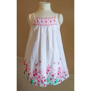 🌸4 for $20🌸 Baby Girls Eyelet Floral Trim Dress